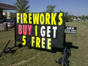 The Economy of Fireworks
